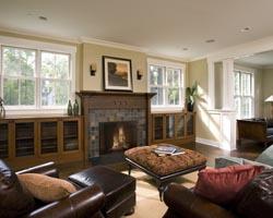 living room open